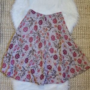 Cecilia Prado Meadowlark Floral Sweater Skirt